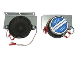 1970 1972 Chevelle Dual Front Speaker Dash Stereo