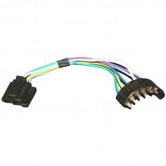 WIR-4258-2T Radio Wiring Harness Adapter on pioneer car, single plug 22 pin, chrysler 300c, for ram r2, john deere,