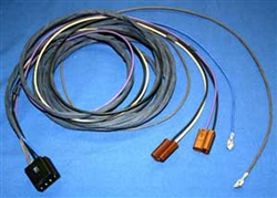 1965 - 1969 Radio Wiring Harness for Stereo with 4 Speaker System Wiring Harness For Nova on